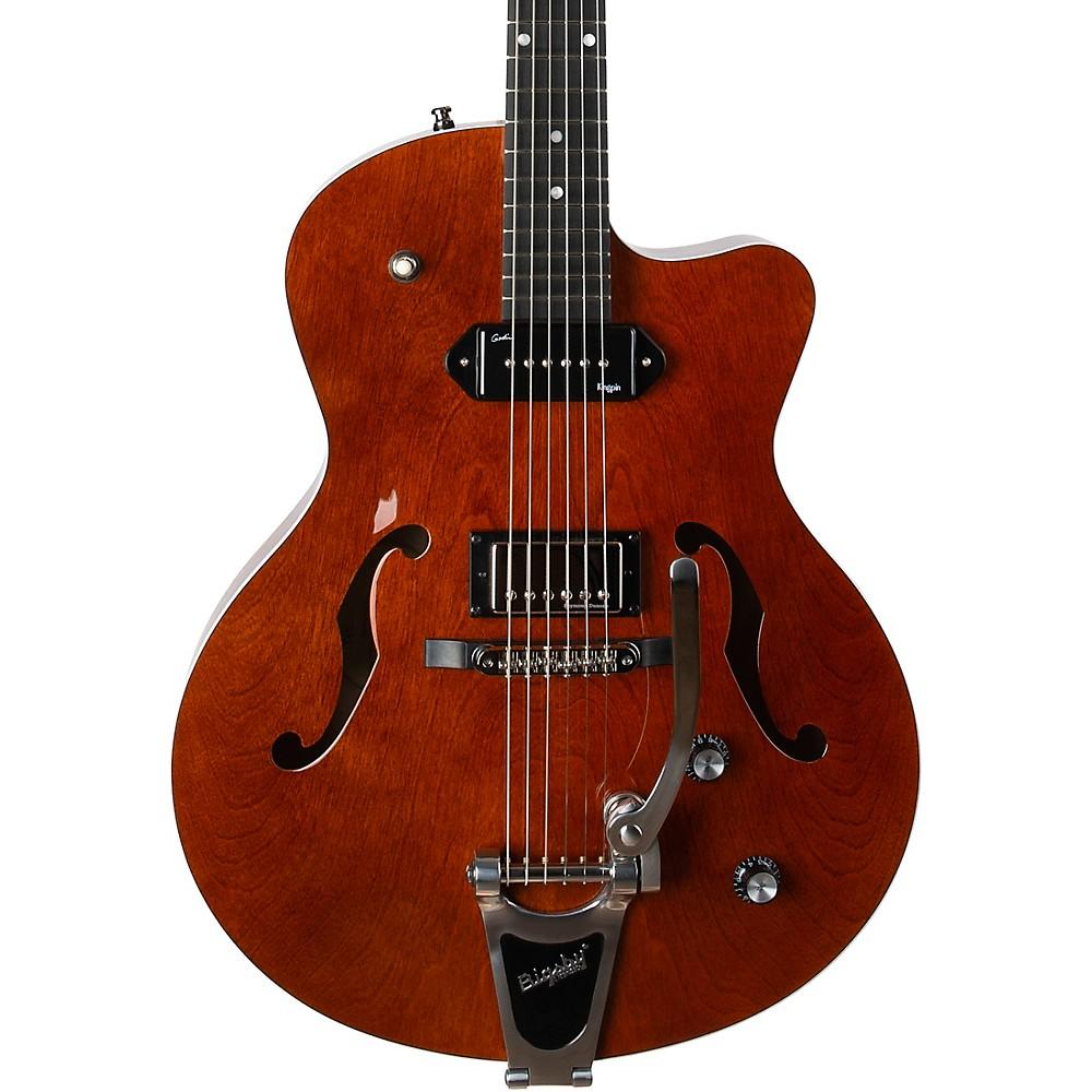 Godin 5Th Ave Uptown Custom Hollowbody Electric Guitar Havana Brown