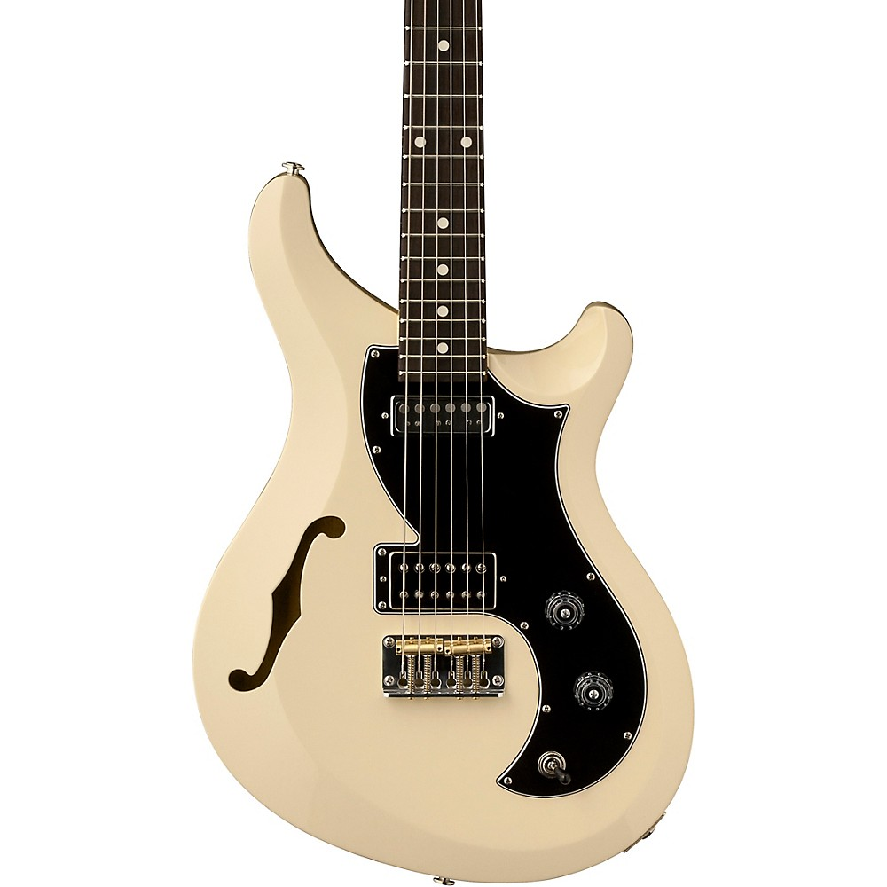 Prs S2 Vela Semi-Hollow Electric Guitar Antique White