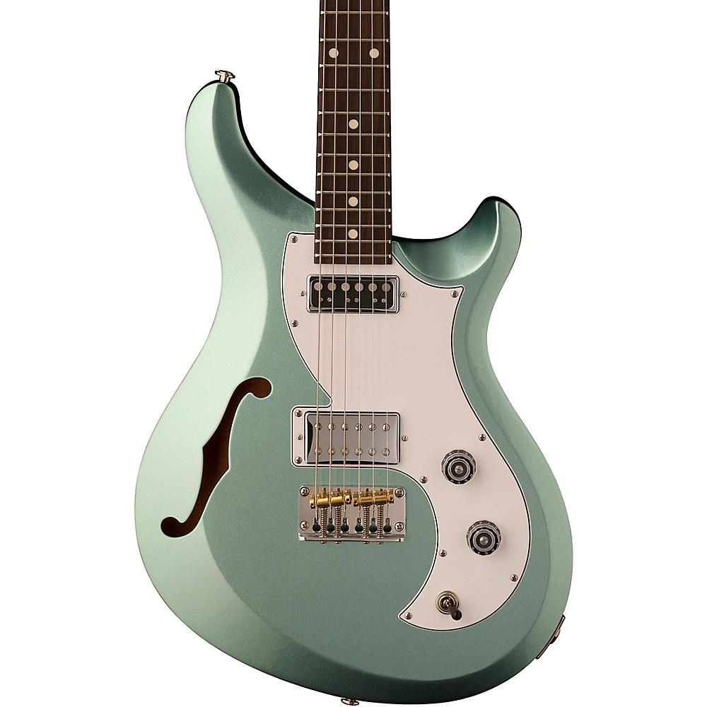 Prs S2 Vela Semi-Hollow Electric Guitar Frost Green Metallic