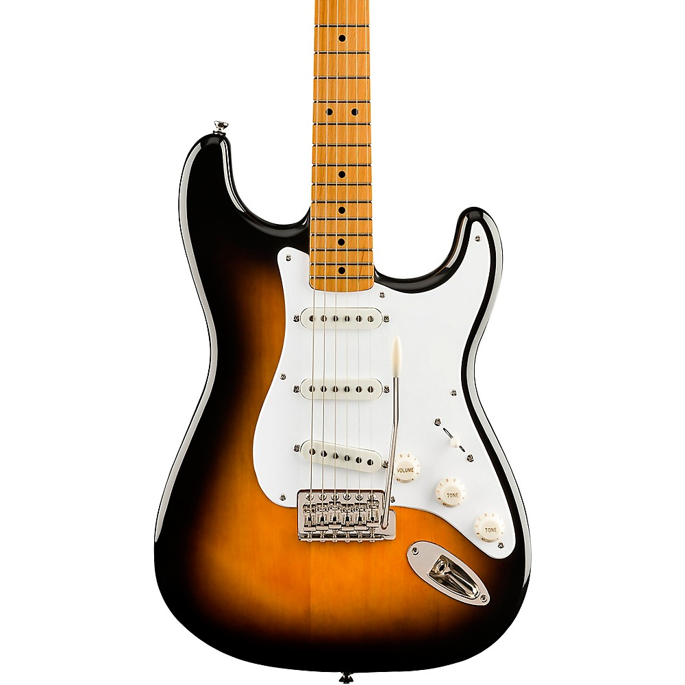 Squier Classic Vibe '50S Stratocaster Maple Fingerboard Electric Guitar 2-Color Sunburst