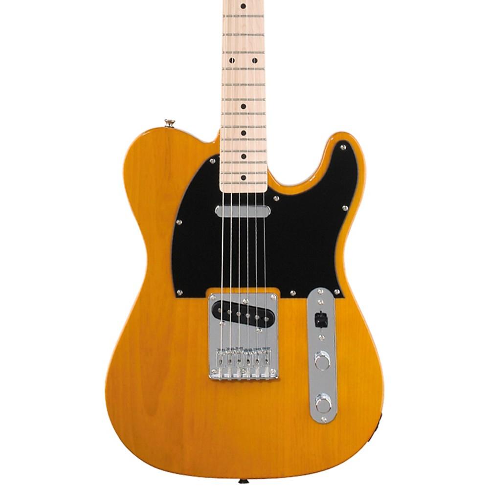 Erstklassige Fender Squier Affinity Telecaster E-Gitarre in Butterscotch Blonde