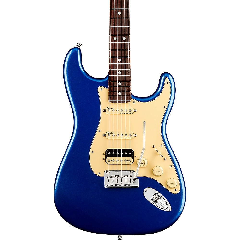 Fender American Ultra Stratocaster Hss Rosewood Fingerboard Electric Guitar Cobra Blue