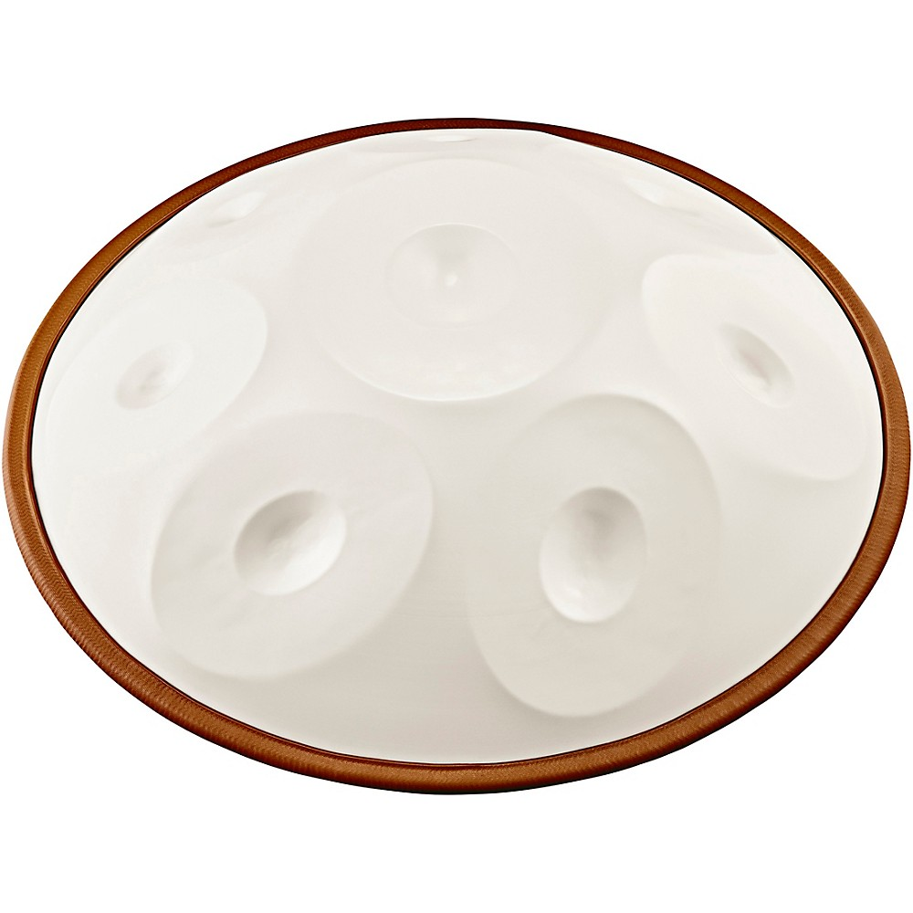 Meinl Sonic Energy Harmonic Art Handpan In White Jade, Raga Desya Todi D#