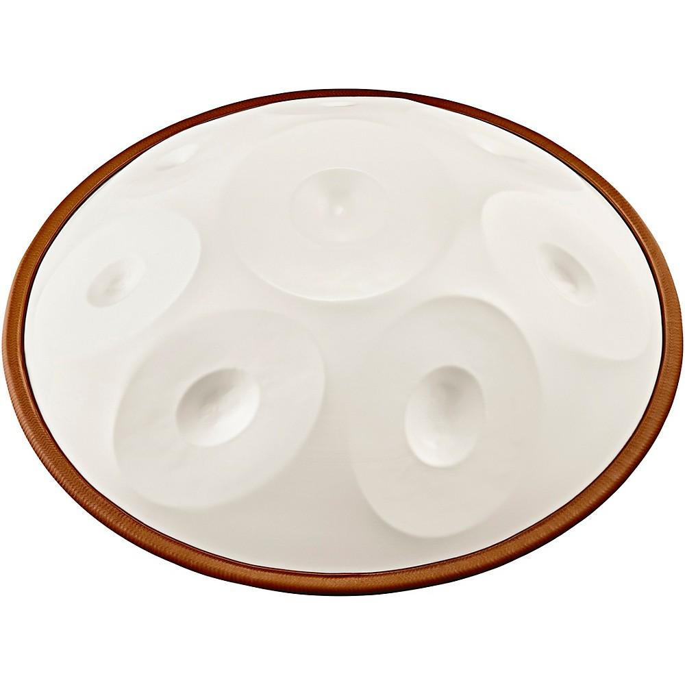 Meinl Sonic Energy Harmonic Art Handpan In White Jade, Integral D