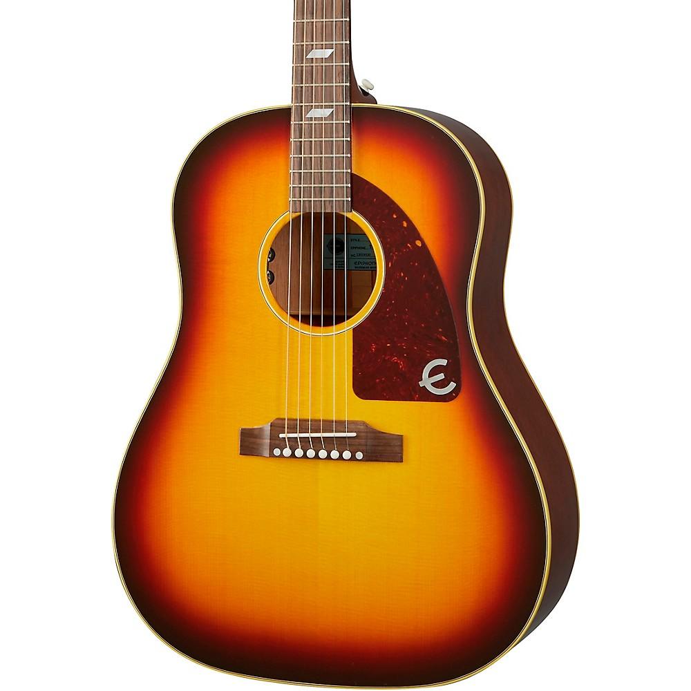 Epiphone Usa Texan Hollowbody Acoustic-Electric Guitar Vintage Sunburst