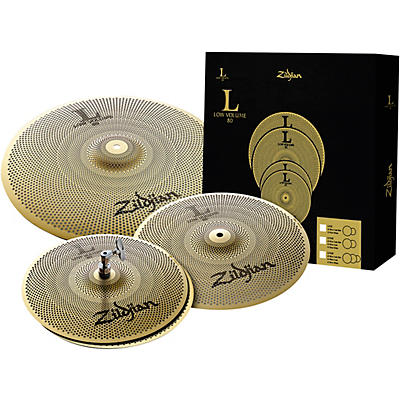 Zildjian L80 Series LV348 Low Volume Cymbal Box Pack