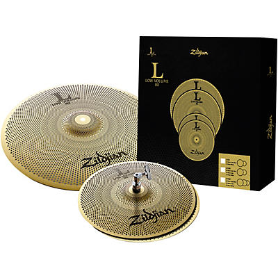 Zildjian L80 Series LV38 Low Volume Cymbal Box Pack