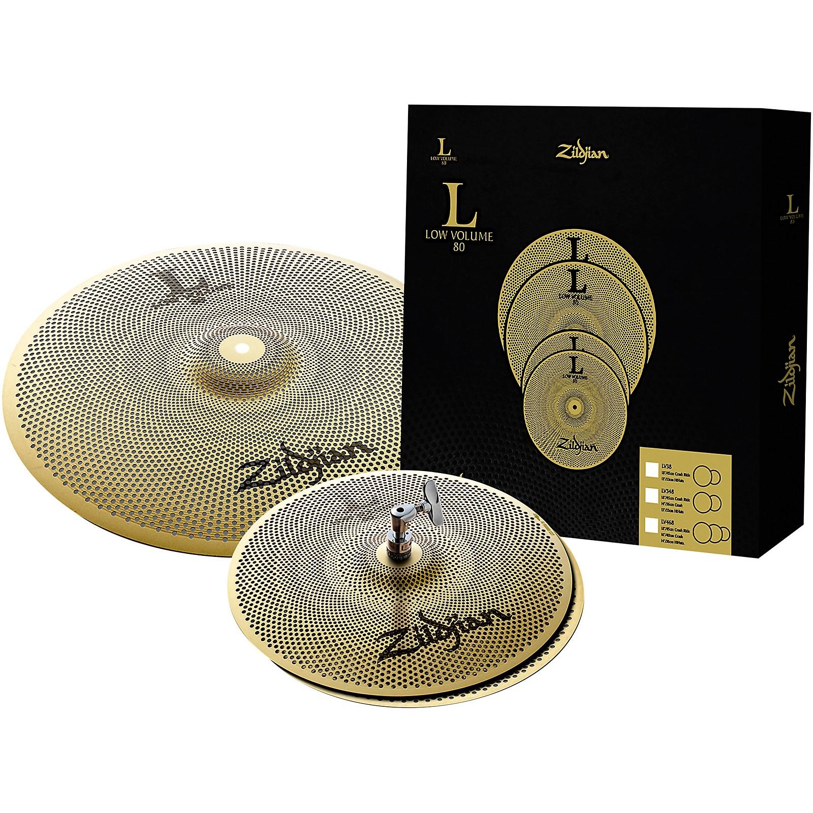 Zildjian L80 Series LV38 Low Volume Cymbal Box Set