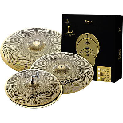 Zildjian L80 Series LV468 Low Volume Cymbal Box Pack