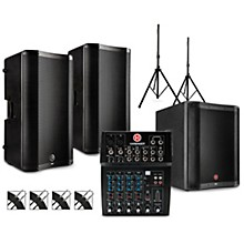 L802 Mixer Package with VARI V4000 Series Speakers, V2318S Subwoofer, Stands and Cables 15