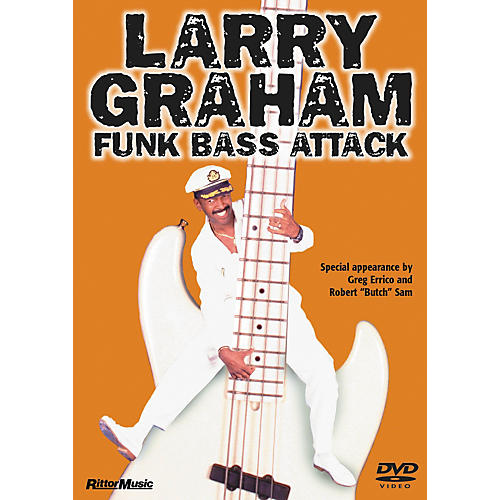 Rittor Music LARRY GRAHAM - FUNK BASS ATTACK DVD