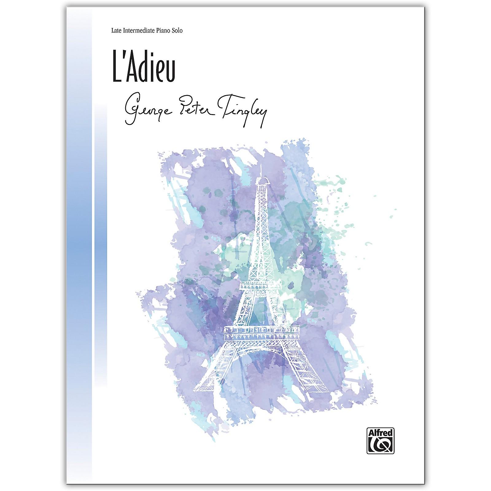 Alfred L'Adieu Late Intermediate