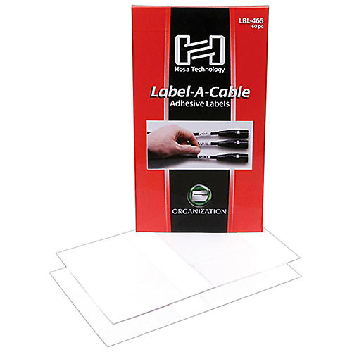 Hosa LBL-466 Label-A-Cable (60 Pack)