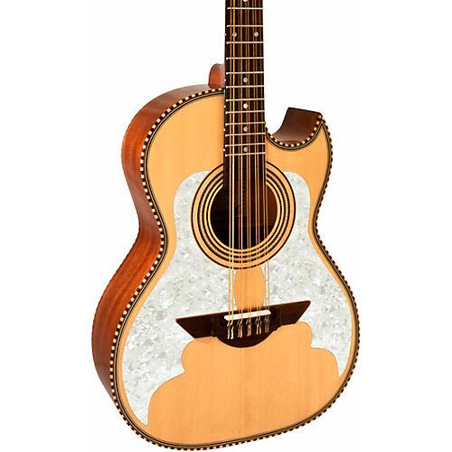 H. Jimenez LBQ Bajo Quinto El Estandar Series Acoustic Satin Natural