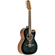 LBQ1 Bajo Quinto Acoustic-Electric El Estandar Series Black