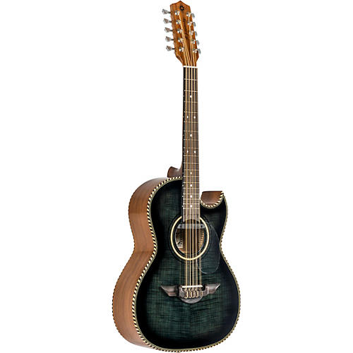 H. Jimenez LBQ1 Bajo Quinto Acoustic-Electric El Estandar Series