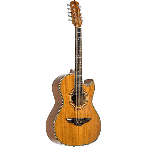 H. Jimenez LBQ1 Bajo Quinto Acoustic-Electric El Estandar Series Natural