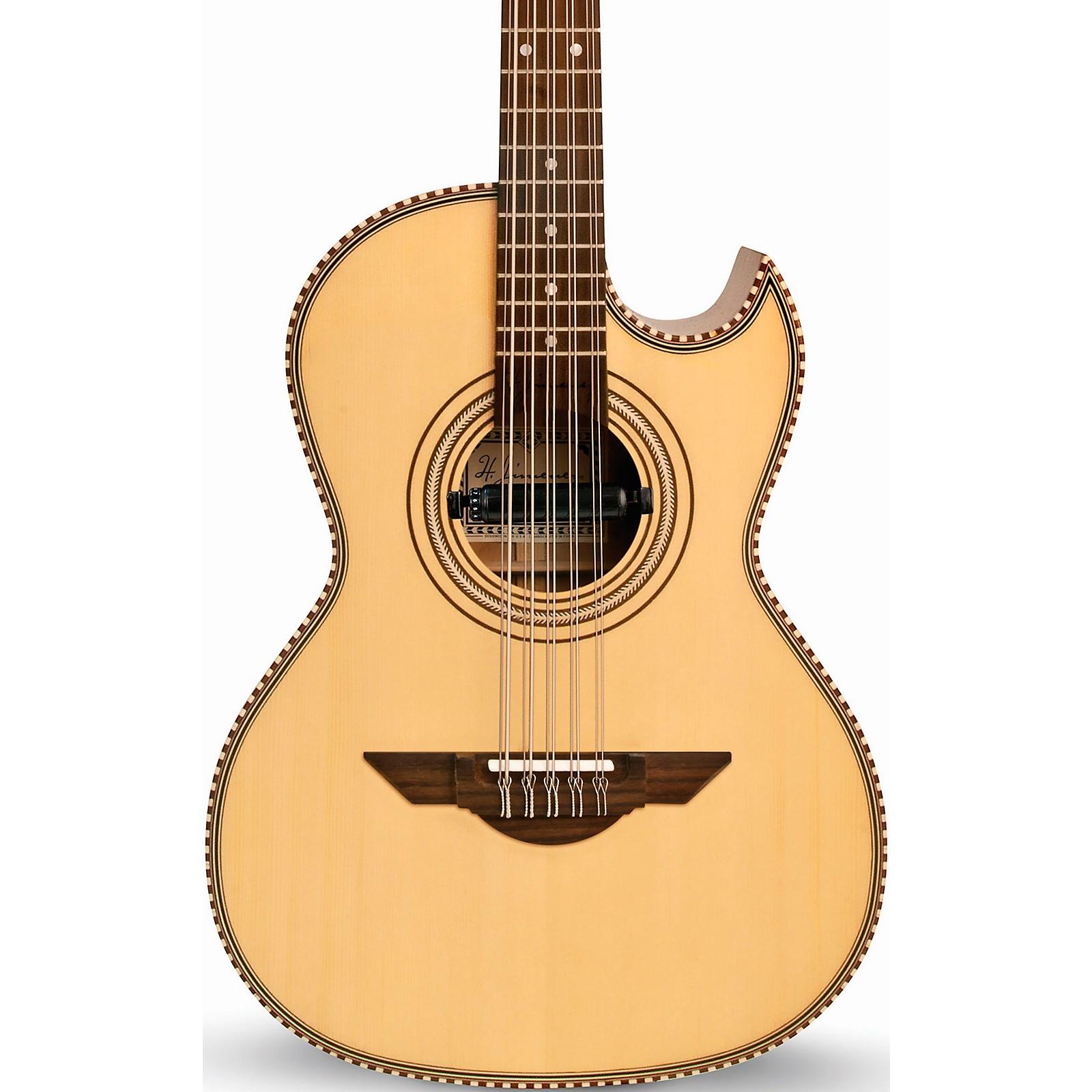 H. Jimenez LBQ1E Bajo Quinto El Estandar Series Acoustic-Electric