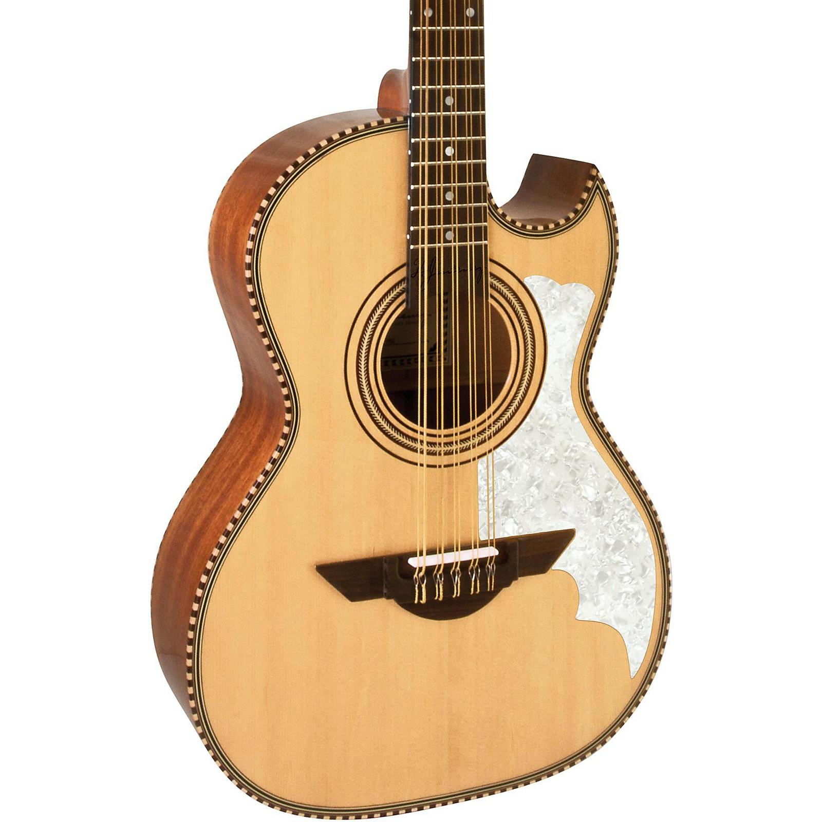 H. Jimenez LBQ2E El Musico (The Musician) Full Body Bajo Quinto Acoustic-Electric Guitar