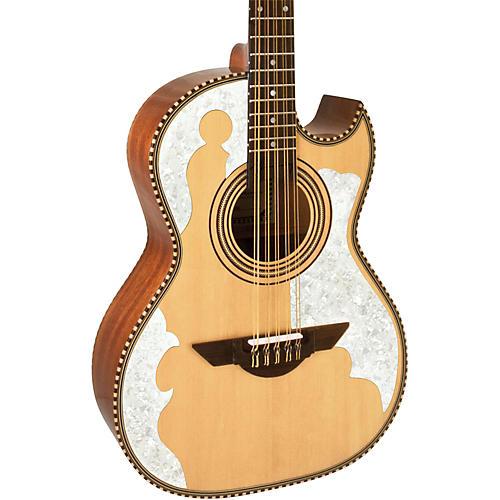 H. Jimenez LBQ4 El Patron (The Master) Bajo Quinto Acoustic Guitar