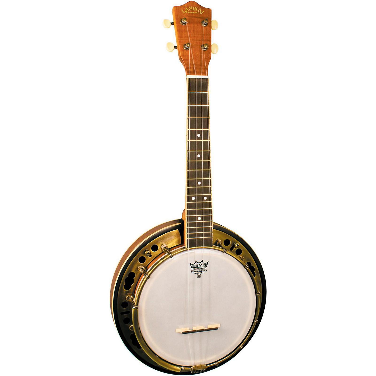 Lanikai LBU-C Concert Size Banjolele with Custom Gig bag