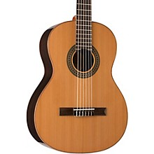 Open BoxLucero LC200S Solid-Top Classical Acoustic Guitar