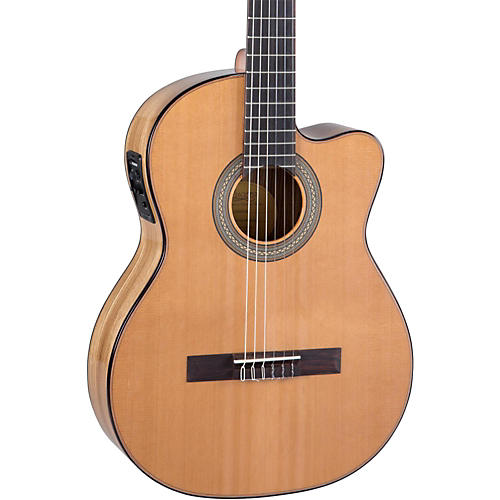 Lucero LC235SCE Acoustic-Electric Exotic Wood Classical Guitar Condition 2 - Blemished Natural 194744412462