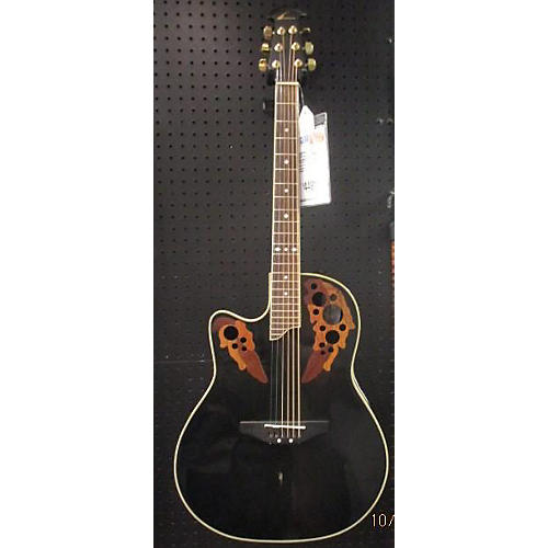 Ovation LC247 Celebrity Acoustic Electric Guitar Black