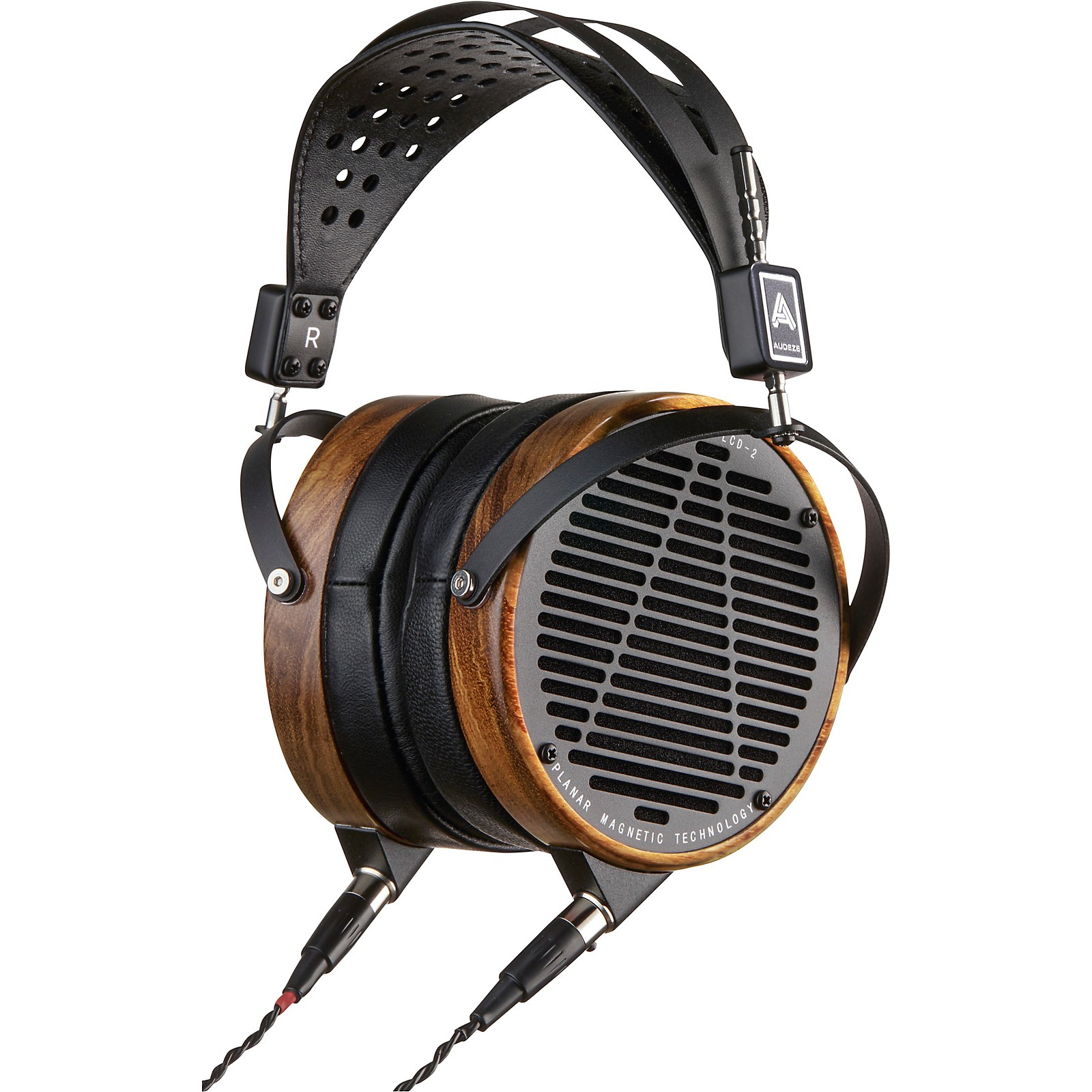 Audeze LCD-2 Headphone with Shedua Wood and Lambskin Leather