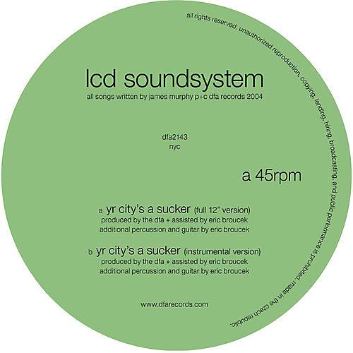 Alliance LCD Soundsystem - Yr City's a Sucker