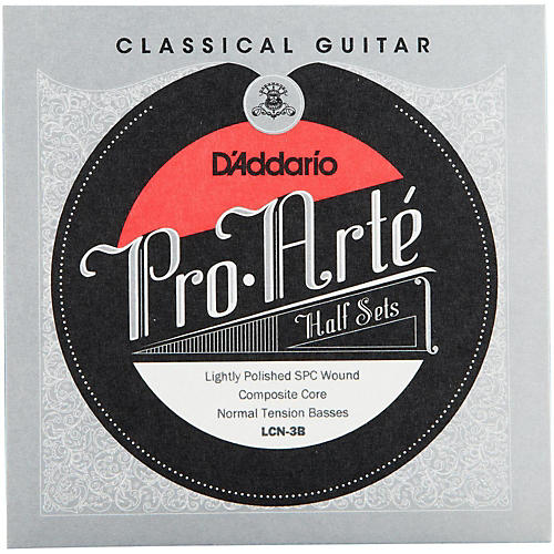 D'Addario LCN-3B Pro-Arte Normal Tension Classical Guitar Strings Half Set
