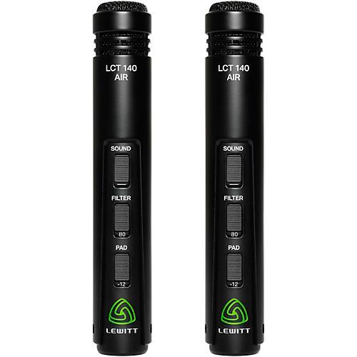 Lewitt Audio Microphones LCT 140 AIR Stereo Pair Small Diaphragm Condenser Mics