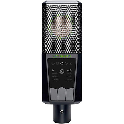 Lewitt Audio Microphones LCT 640 TS Multi-Pattern Large-Diaphragm Condenser Microphone with Shockmount