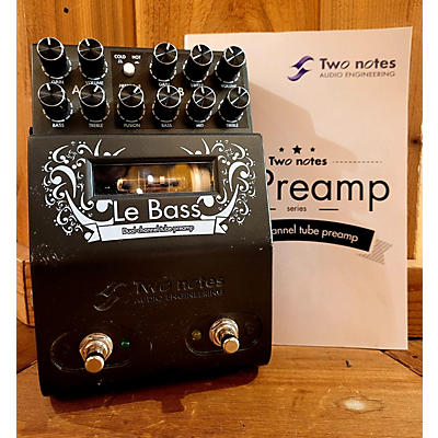 Two Notes Audio Engineering LE BASS DUAL CHANNEL TUBE PREAMP Effect Pedal
