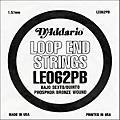 D'Addario LE062PB Phosphor Bronze Wound Single String thumbnail