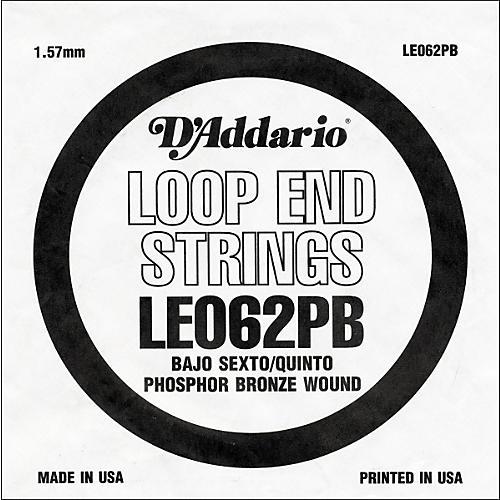 D'Addario LE062PB Phosphor Bronze Wound Single String