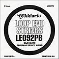 D'Addario LE092PB Phosphor Bronze Wound Single String thumbnail