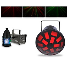 CHAUVET DJ LED Mushroom with Hurricane 700 Fog Machine and Juice