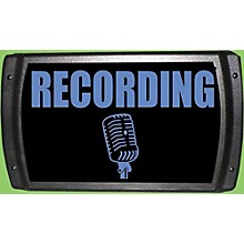 "American Recorder Technologies LED ""Recording"" Sign - Blue"
