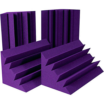 Auralex LENRD Bass Traps 4-Pack - Purple