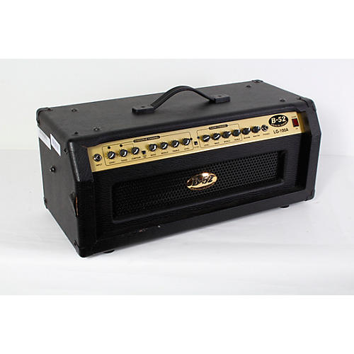 open box b 52 lg 100a 100w solid state guitar amp head musician 39 s friend. Black Bedroom Furniture Sets. Home Design Ideas