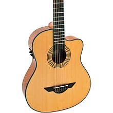 LG El Maestro Nylon-String Non-Cutaway Acoustic-Electric Guitar Satin Natural