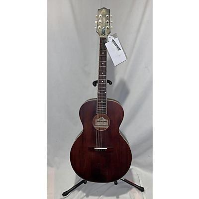 The Loar LH-204-BR Acoustic Guitar