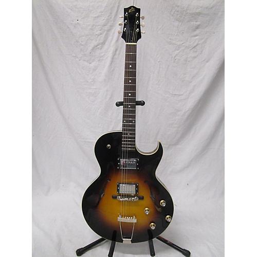 The Loar LH-304T Acoustic Electric Guitar 2 Tone Sunburst