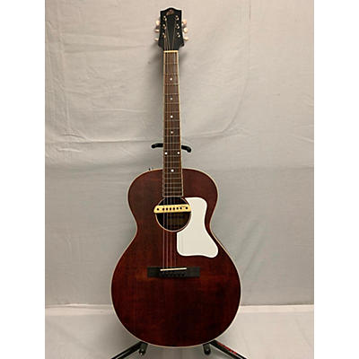 The Loar LH204BR Acoustic Electric Guitar
