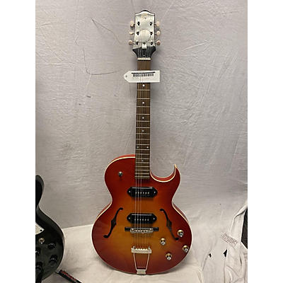 The Loar LH302 Hollow Body Electric Guitar