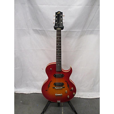 The Loar LH302t Hollow Body Electric Guitar
