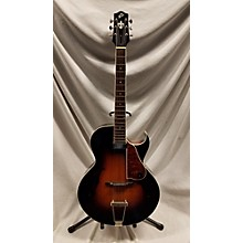 The Loar LH350VS Hollow Body Electric Guitar