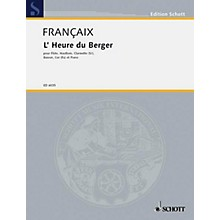 Schott L'Heure du berger (Set of Parts) Schott Series by Jean Françaix