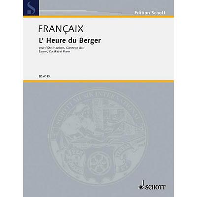 Schott L'Heure du berger (Set of Parts) Schott Series by Jean Françaix